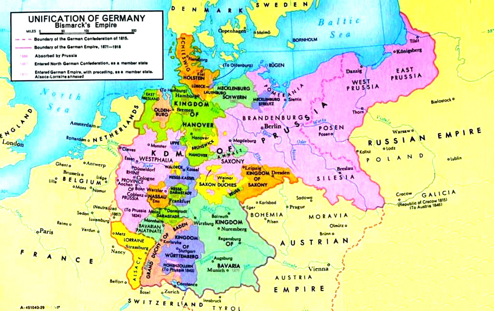 Map Of Germany 1871.Medical History In Germany