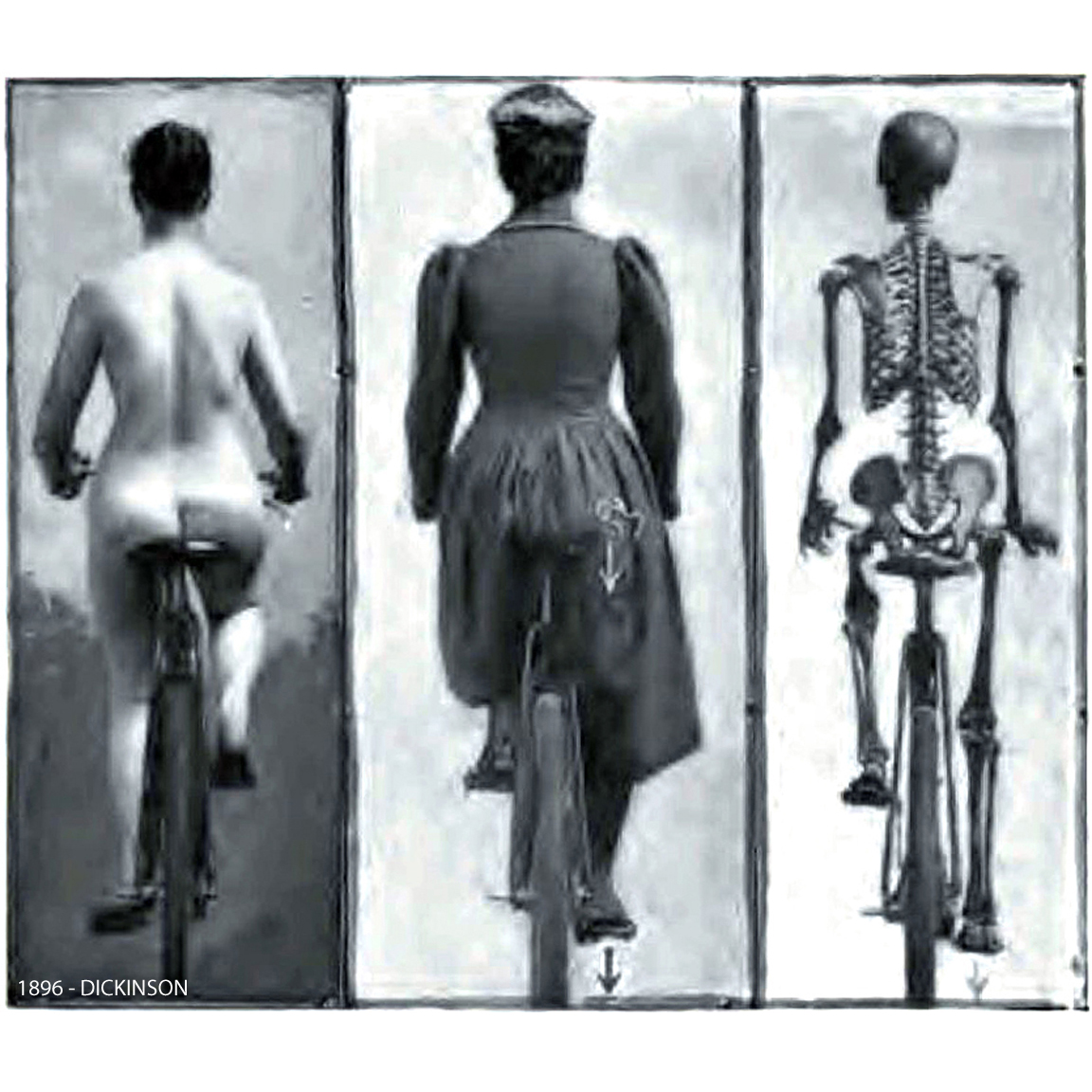 1896-DICKINSON-Correct Posture while Bicycling